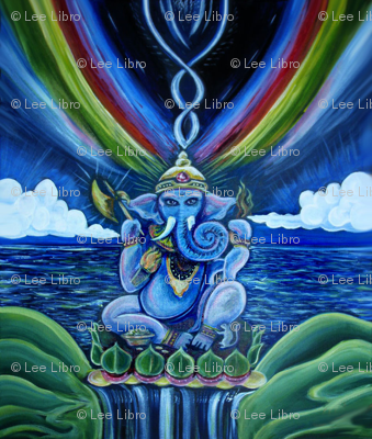 Rainbow Ganesh