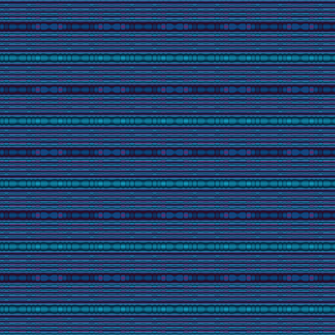 Blue Beaded Look Stripe © Gingezel™ 2012 fabric by gingezel on Spoonflower - custom fabric