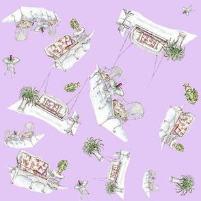 Wicker Wonderland lavender