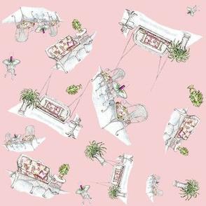 Wicker Wonderland pink