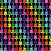 Rainbow Buddhas