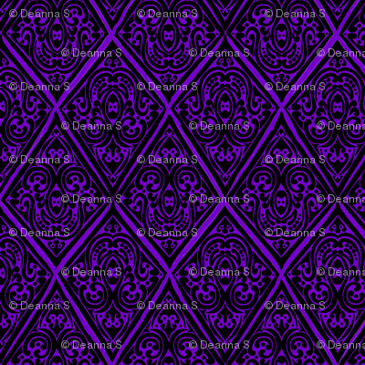 damaskpatchpurple