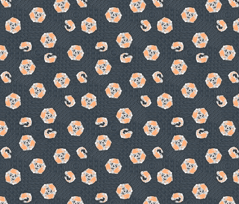 koi_dots2 fabric by glimmericks on Spoonflower - custom fabric