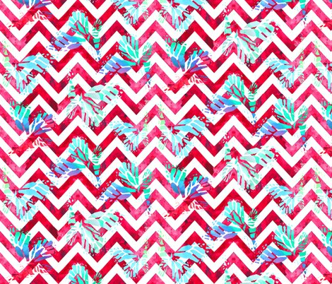 Rrrchevron_red_white_and_butterflies_shop_preview