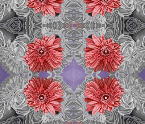 Jens Flowers fabric by kutedymples on Spoonflower - custom fabric