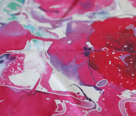 watercolor floral large