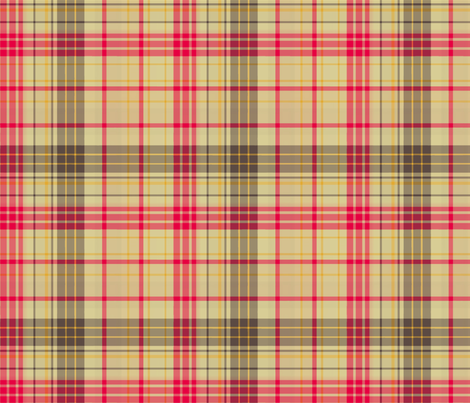 Salt 'n Pepper Plaid Plain fabric by evenspor on Spoonflower - custom fabric