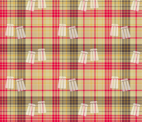 Salt 'n Pepper Plaid fabric by evenspor on Spoonflower - custom fabric