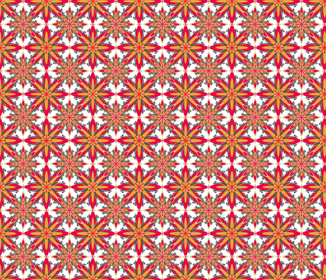 RetroDaisey-2 fabric by grannynan on Spoonflower - custom fabric