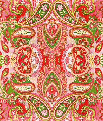 Just Peachy Paisley