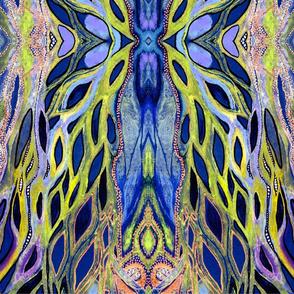 LeavesButflyblu_wallpaper