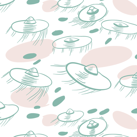ufo fabric by youngcaptive on Spoonflower - custom fabric
