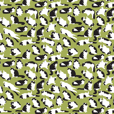 Fat Mo fabric by einekleinedesignstudio on Spoonflower - custom fabric