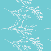 branches- turquoise