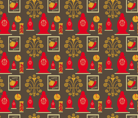 SpiceJarsandRack fabric by yveleyn on Spoonflower - custom fabric