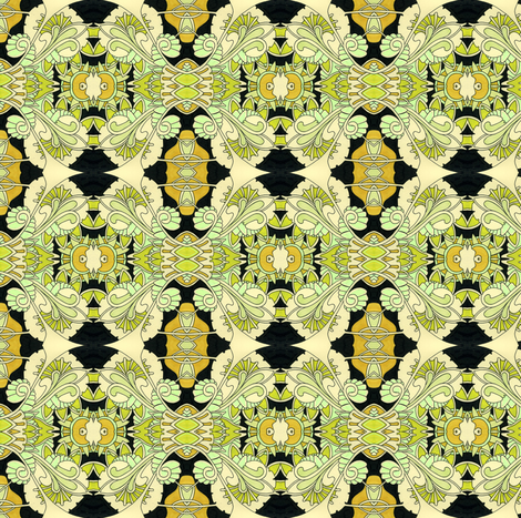 Sine Wave Samba fabric by edsel2084 on Spoonflower - custom fabric