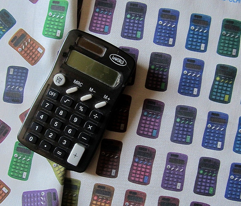 calculator toss