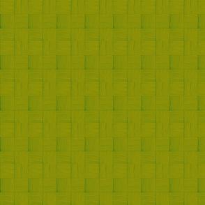 Woven lauhala mat  fresh greenery