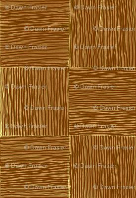Woven lauhala mat in Natural, medium