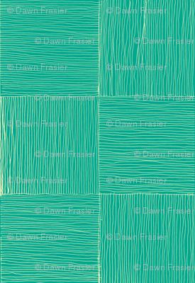 Lauhala mat in crustaian blue