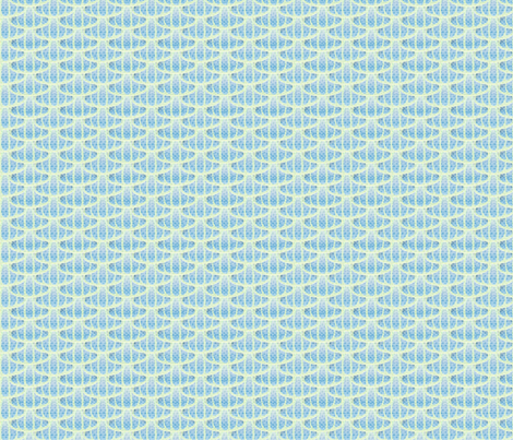 aqua scales fabric by glimmericks on Spoonflower - custom fabric