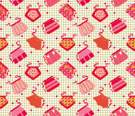 60's_Aprons fabric by pavlova_is on Spoonflower - custom fabric