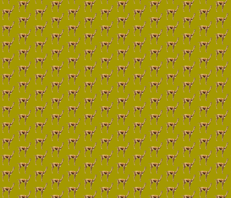 llama and lime fabric by fabricfaeries on Spoonflower - custom fabric