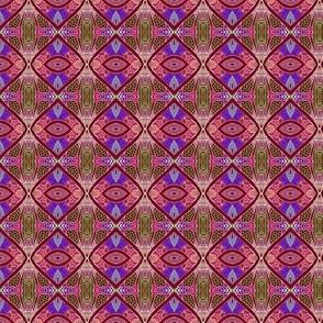 Rustic Diamond Weave