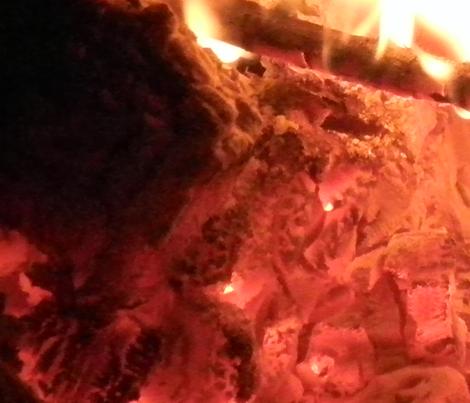 fire fabric by feebeedee on Spoonflower - custom fabric