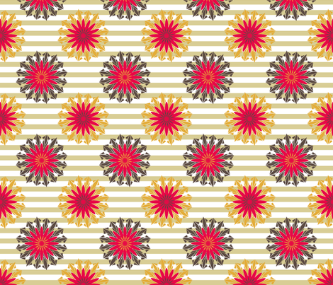 RetroWallpaper fabric by grannynan on Spoonflower - custom fabric