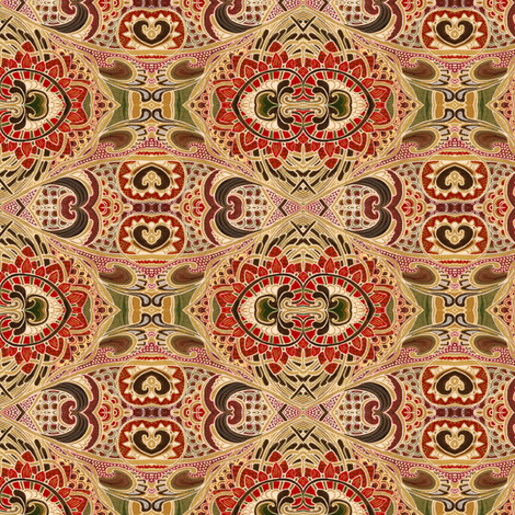 Vacation in Morocco fabric by edsel2084 on Spoonflower - custom fabric