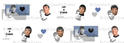 Spock in my pants - Love is Illogical