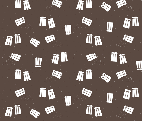 Black Pepper fabric by evenspor on Spoonflower - custom fabric