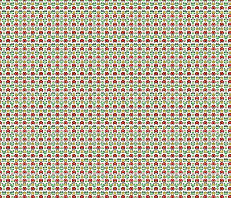 Super Mario 1UP - Green fabric by montyfull on Spoonflower - custom fabric