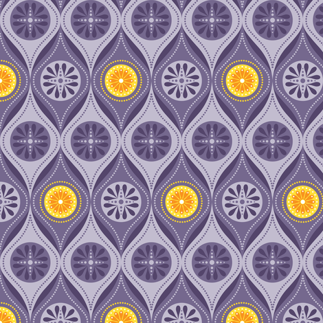 Cosmic Lattice fabric by robyriker on Spoonflower - custom fabric
