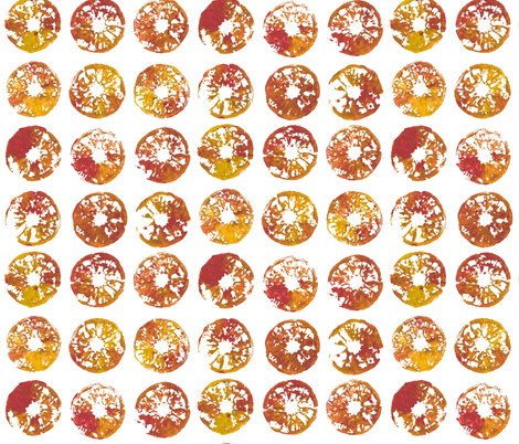 tangerines fabric by weavingmajor on Spoonflower - custom fabric