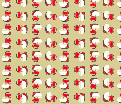 Red_Mixer fabric by joofalltrades on Spoonflower - custom fabric