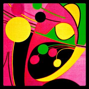 Pop art pillow cover