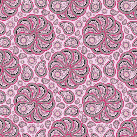 Paisley's Pattern number 2 fabric by brandymiller on Spoonflower - custom fabric