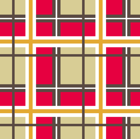 Kitschy/ plaid fabric by paragonstudios on Spoonflower - custom fabric
