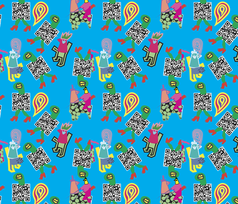 kingcock fabric by loeygnoj on Spoonflower - custom fabric