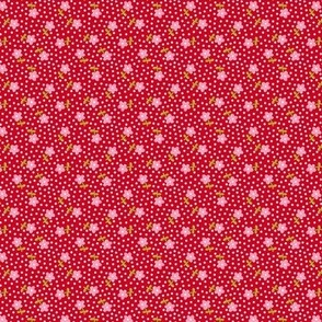 Little Flowers - red