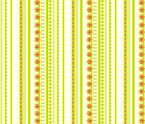 Julitha stripe #2 (Spring) fabric by bippidiiboppidii on Spoonflower - custom fabric