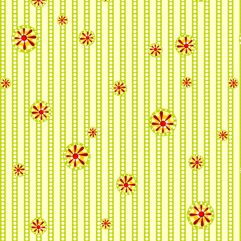 Julitha stripe #1 (Spring) fabric by bippidiiboppidii on Spoonflower - custom fabric