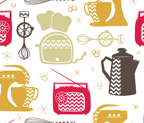 Kickin It Retro fabric by abby_zweifel on Spoonflower - custom fabric
