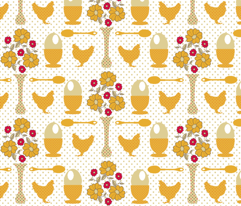 Breakfast fabric by kdl on Spoonflower - custom fabric