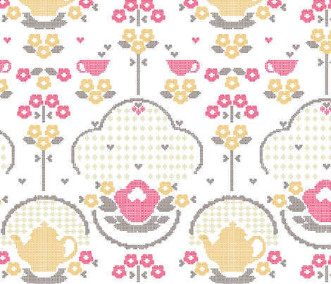 retro_kitchen fabric by luiza_sequeira on Spoonflower - custom fabric