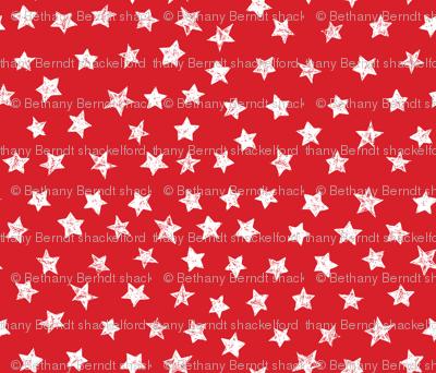 Ducky Red Stars