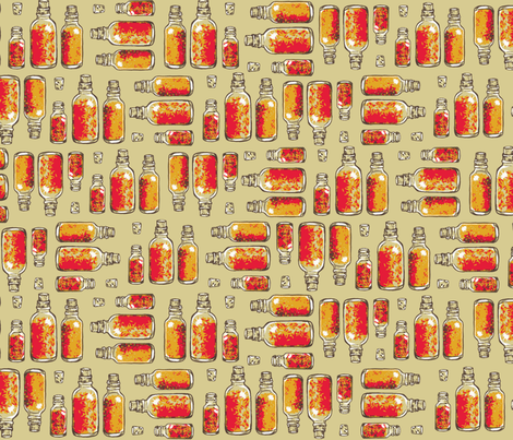spices fabric by spacecowgirl on Spoonflower - custom fabric