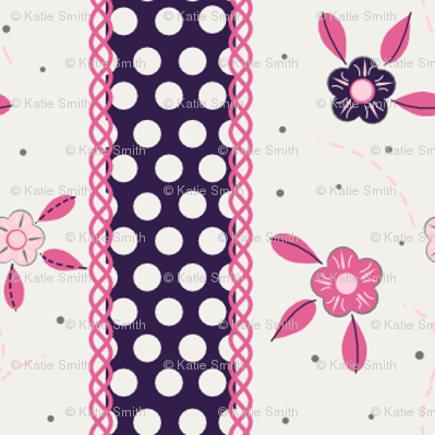 Cute Flower Ribbon